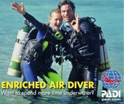 PADI Enriched Air